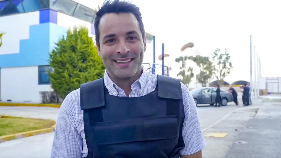 Jorge Luis Vasquez en El Chema