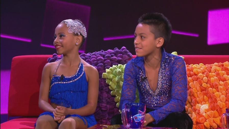 Bailarines de salsa cabaret Valentina y Joshua