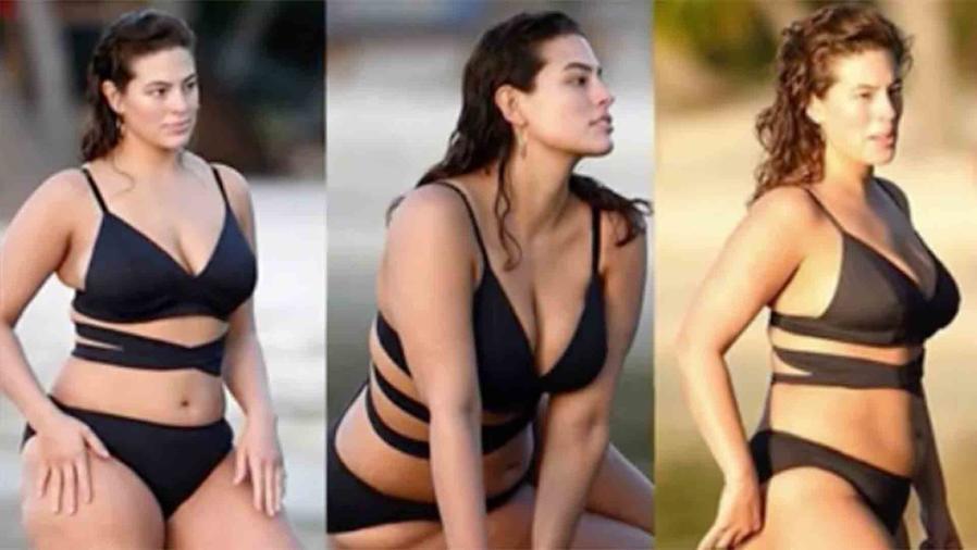 Ashley Graham en bikini