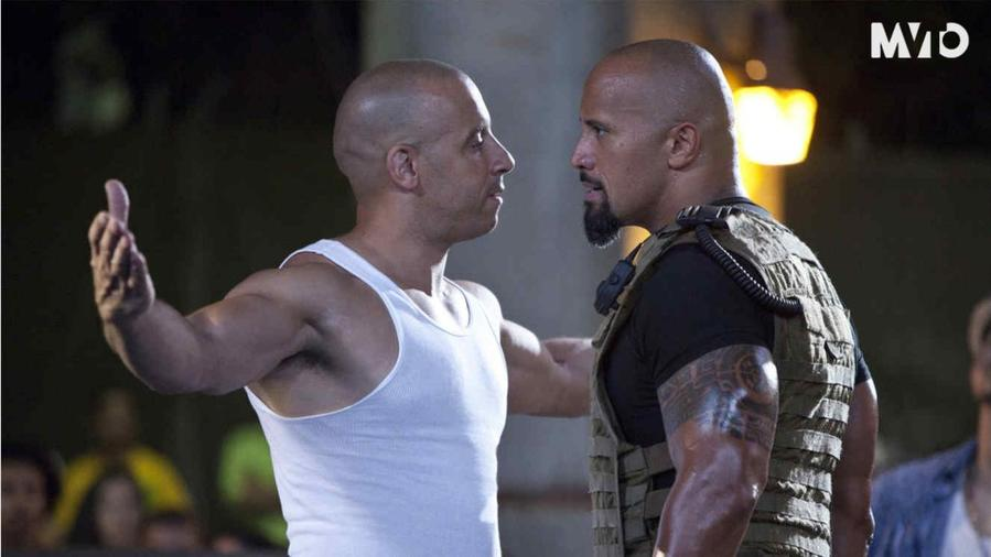 "Continúa la discordia entre Dwayne ""The Rock"" Johnson y Vin Diesel"
