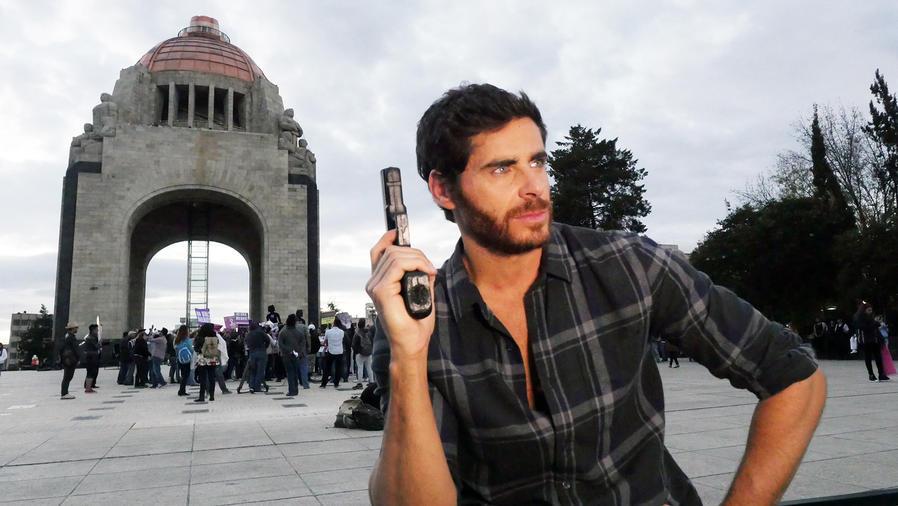 José María Galeano, Braulio, molesto, La Doña