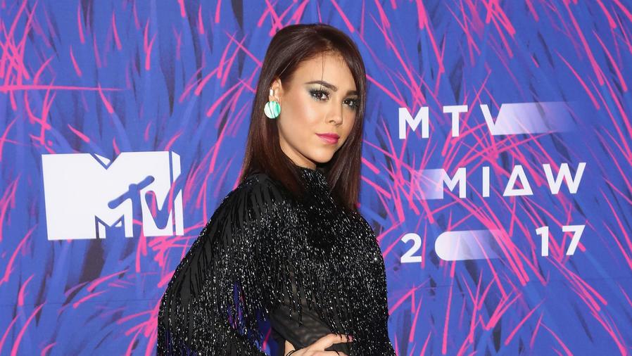 Danna Paola en los premios MTV 2017