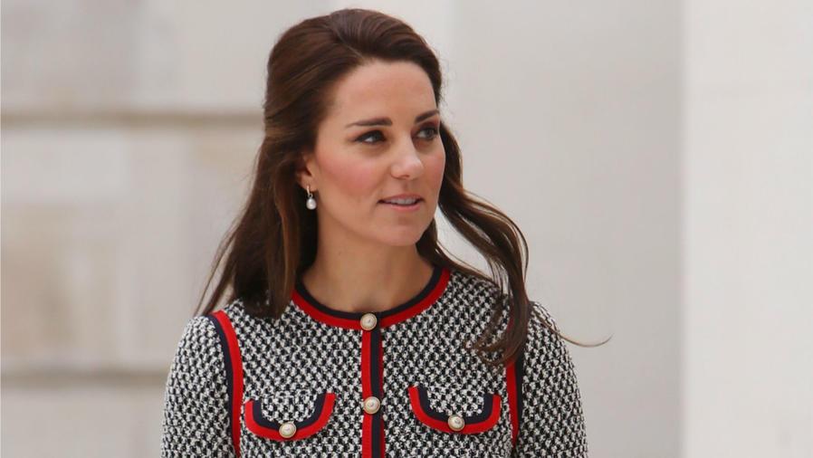 Kate Middleton en el museo V&A