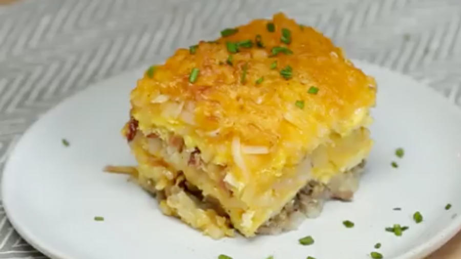 Breakfast Lasagna Recipe