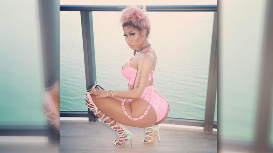 El baile de Nicki Minaj donde mueve su sexy trasero
