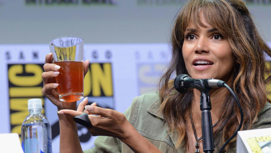 Halle Berry en la comic-on