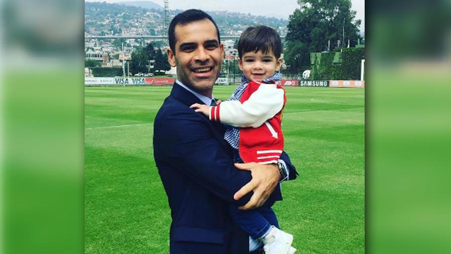 El bebé de Rafa Márquez y Jaydy Michel ya camina