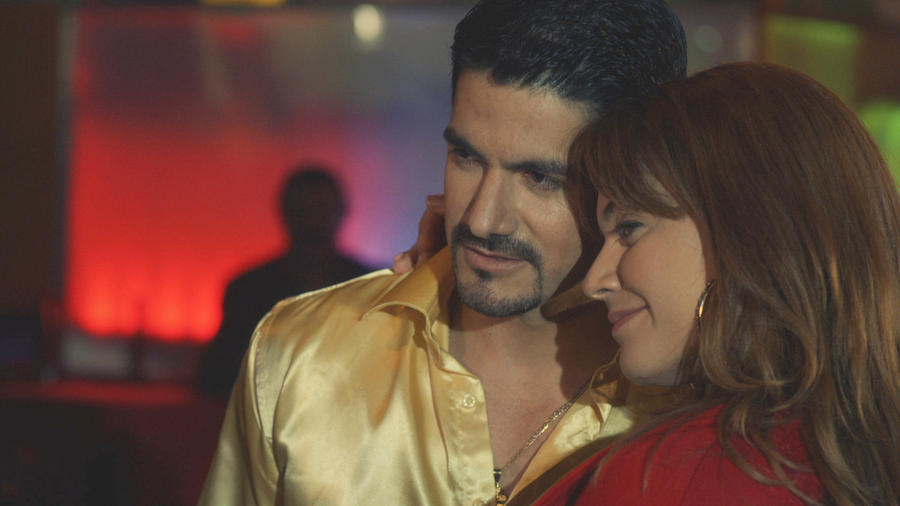 Angélica Celaya y Pepe Gámez en Mariposa de Barrio