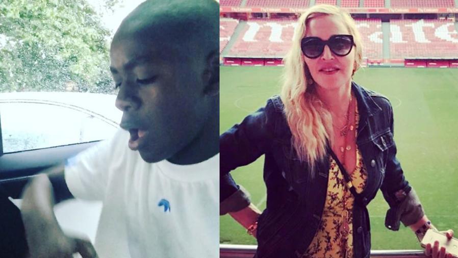 Mira el video del hijo de Madonna cantando en español