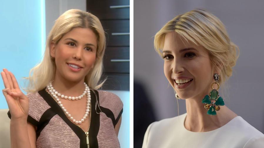 Mujer que se parece a Ivanka Trump