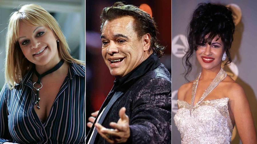 Jenni Rivera, Juan Gabriel y Selena