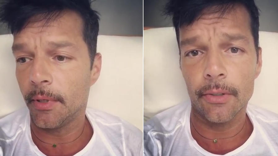 Ricky Martin hablando