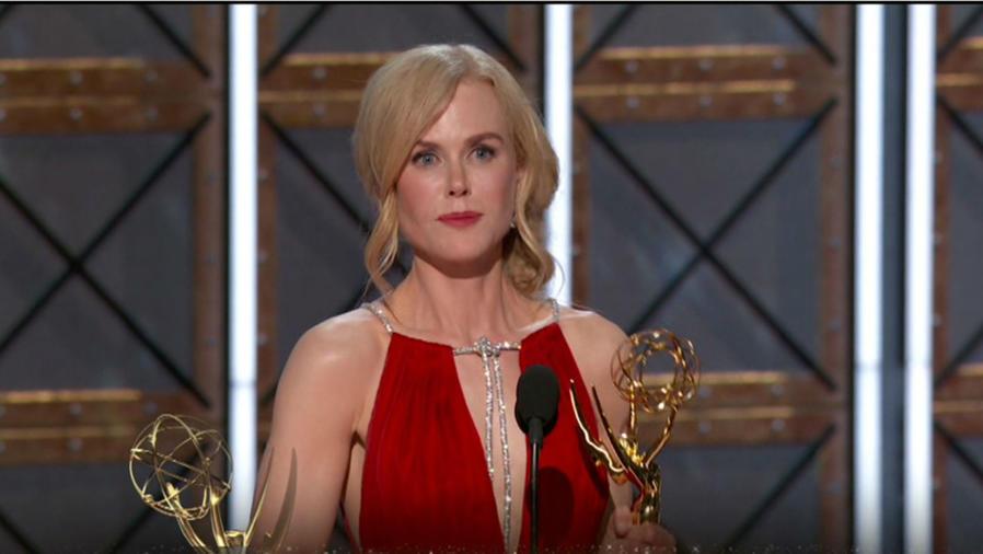Nicole Kidman en los Premios Emmy 2017