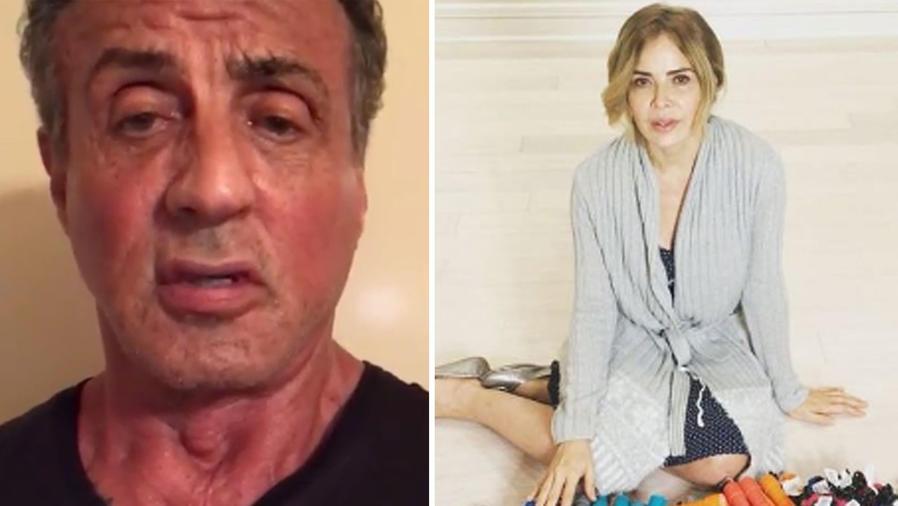 Collage reacciones de famosos por temblor