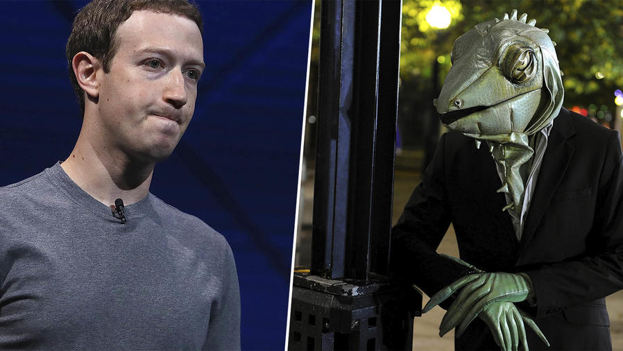 Este video desató la teoría de que Zuckerberg no es humano