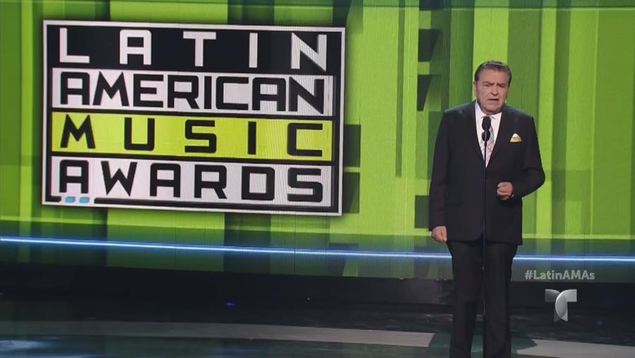 Don Francisco en los Latin AMAS