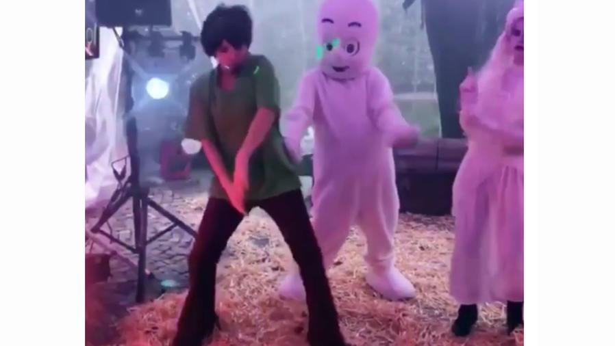 Thalía en Halloween