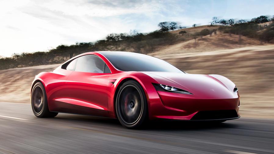 El increíble auto deportivo que presentó Tesla