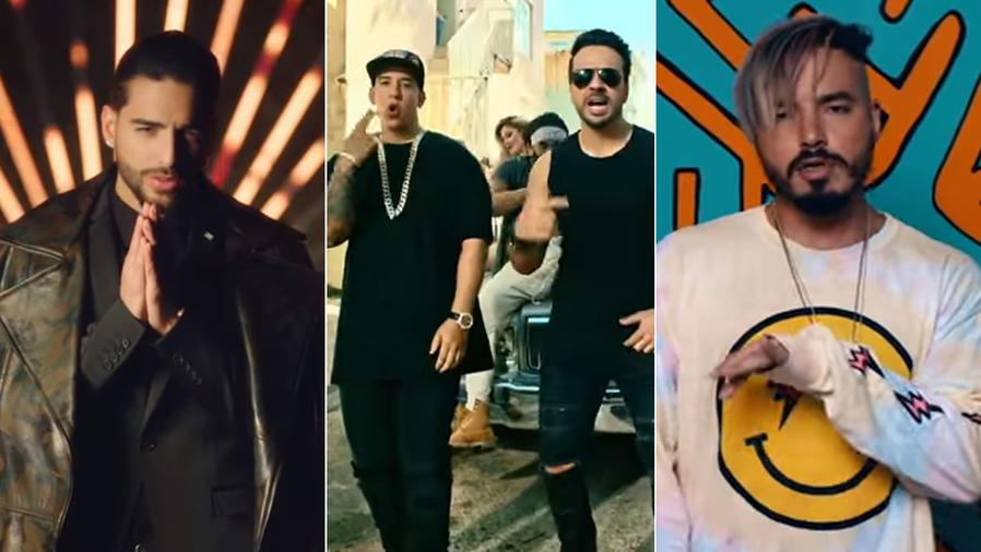 Maluma, Daddy Yankee, Luis Fonsi, J Balvin
