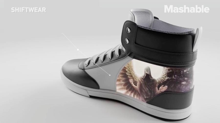 Zapatillas con diseños animados