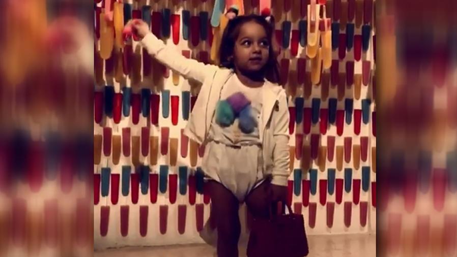 """La hija de Adamari López bailó """"Mi gente"""" de J Balvin"""
