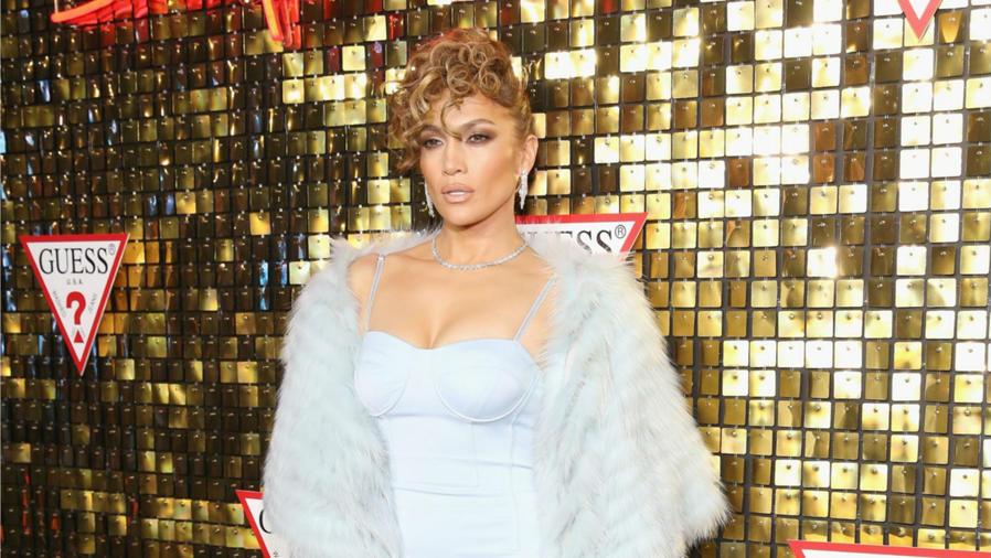 Jennifer Lopez en la presentación de la nueva colección de Guess