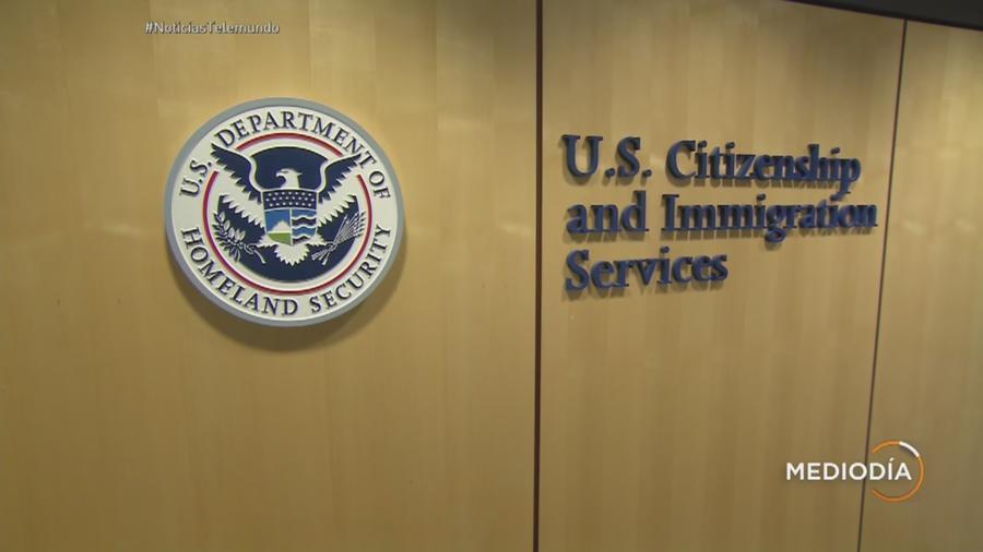 Oficina de inmigración de EEUU en una imagen de archivo