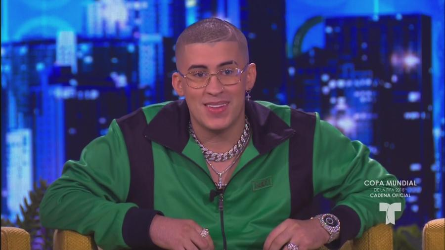 Bad Bunny en Don Francisco Te Invita