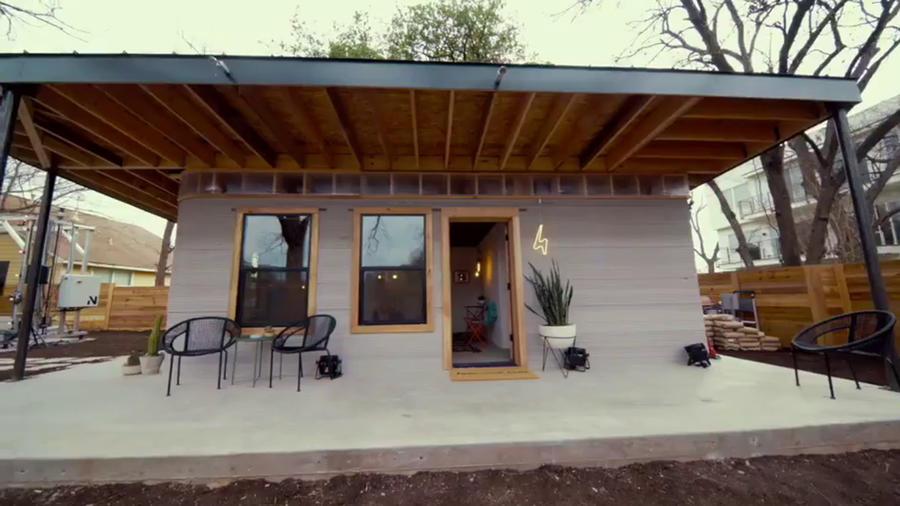 Casa impresa en 3D de Icon
