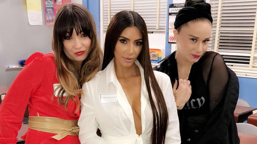 Kim Kardashian en la preparatoria