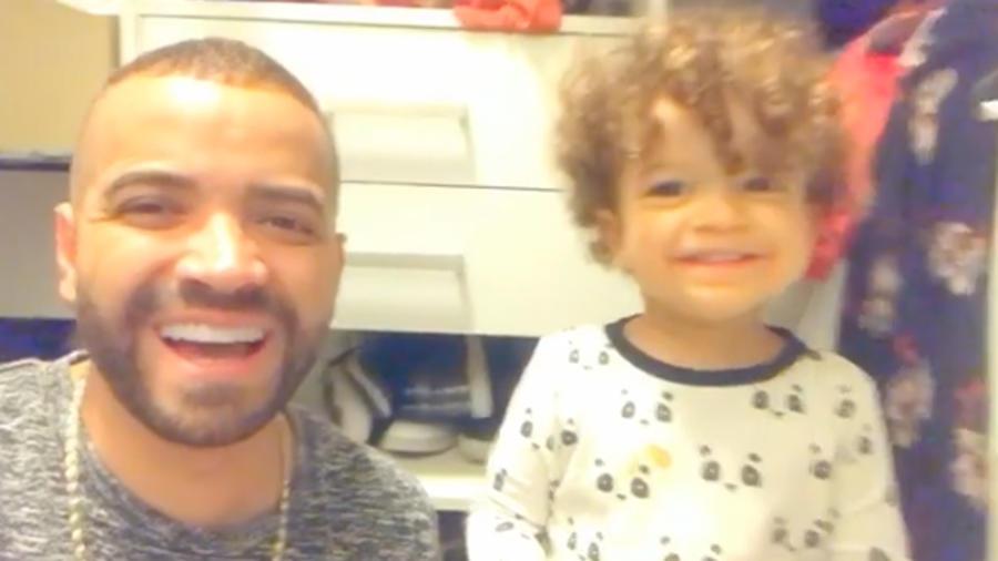 Nacho y su hijo