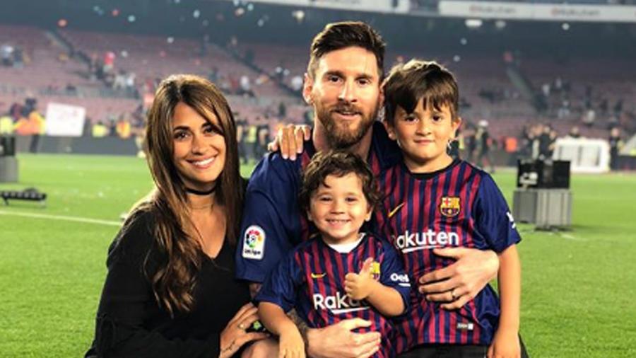 Los hijos de Leo Messi