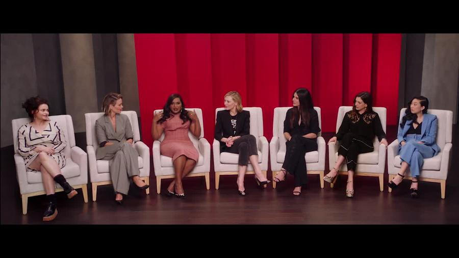 """Watch This Exclusive Clip From Her Upcoming Movie """"Ocean's 8"""""""