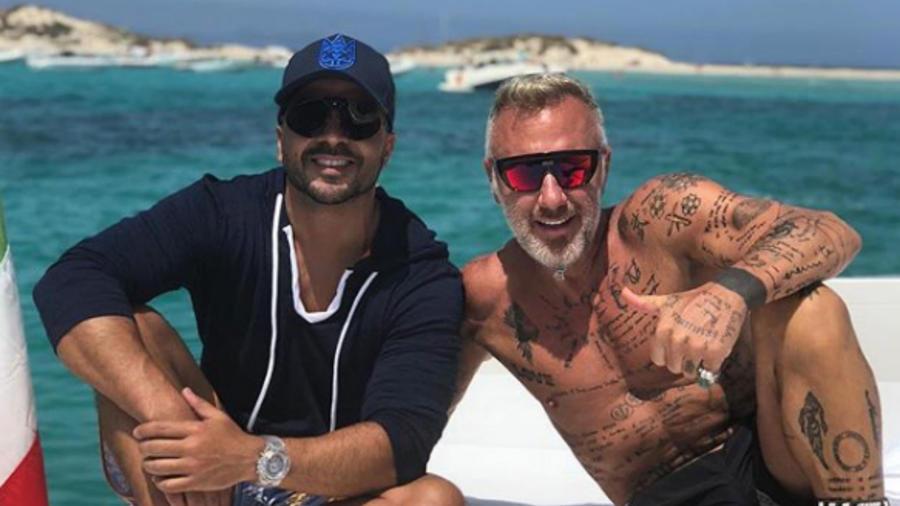 Luis Fonsi y Gianluca Vacchi gozan el verano en grande