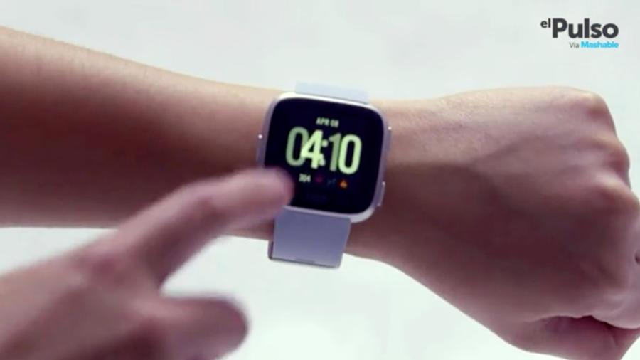 Fitbit Versa y su pantalla táctil