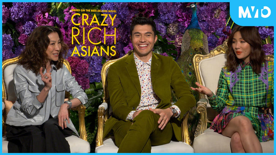 "Interview with the cast of ""Crazy Rich Asians"""