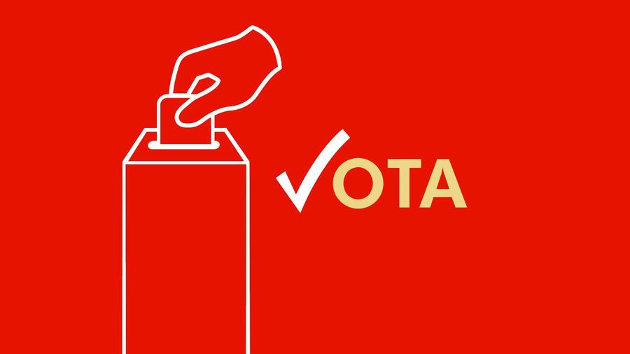 Tu voto es tu voz, regístrate para votar ¡ya!