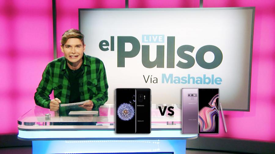 Christan Acosta y Los Samsung Galaxy S9 y Galaxy Note 9