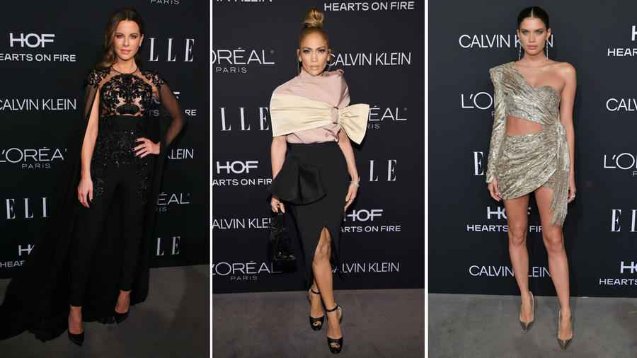 Famosas en la gala Women in Hollywood