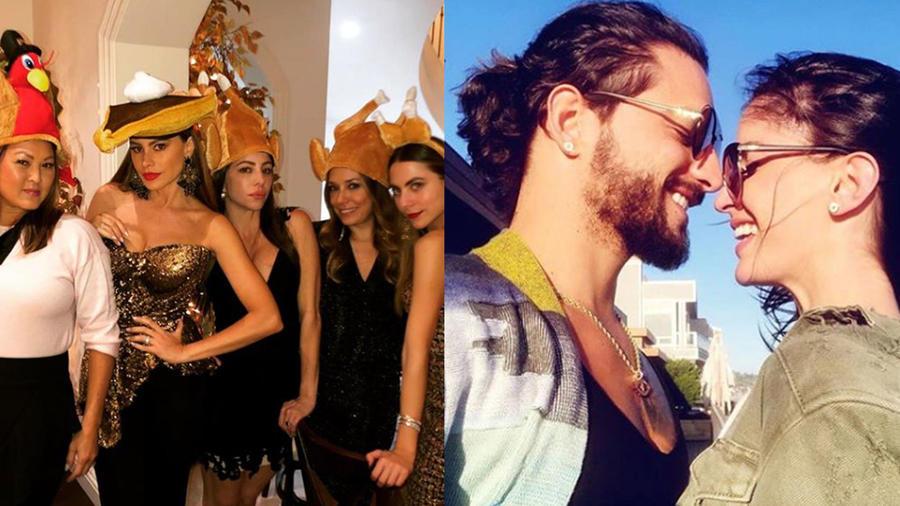 Mira a los famosos celebrando Thanksgiving