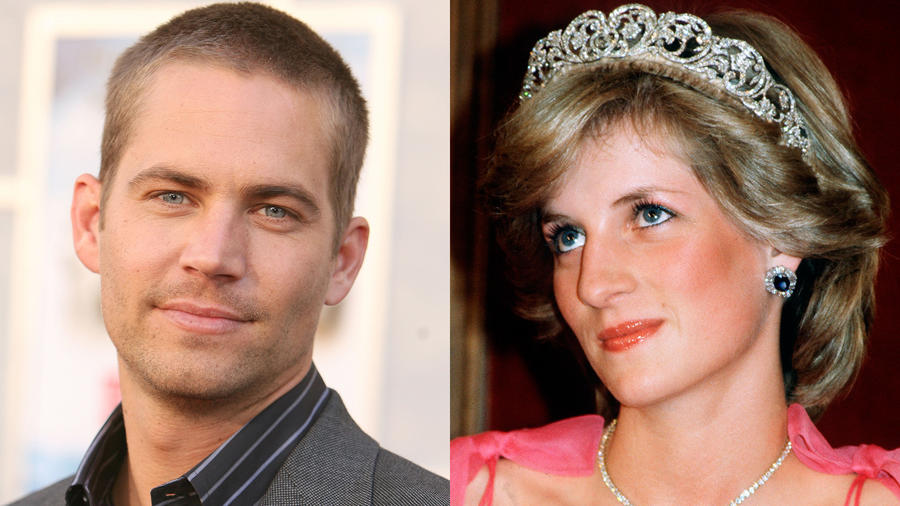 Paul Walker y Lady Di