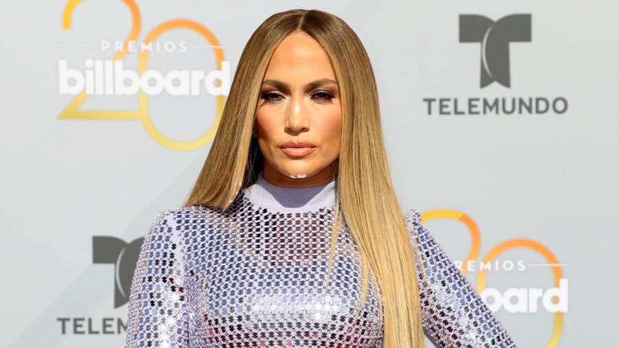 Jennifer López en Premios Billboard 2018