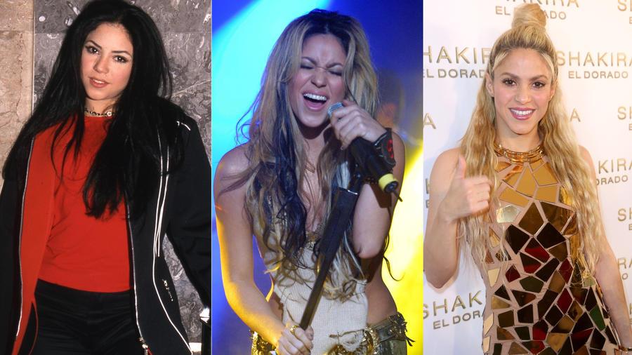 Transformación de Shakira