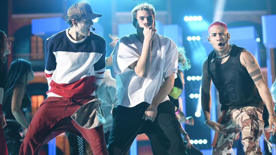 CNCO ensayos Premios Billboard 2019