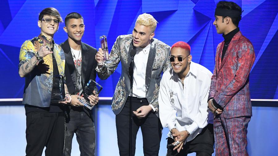 CNCO en Premios Billboard 2019