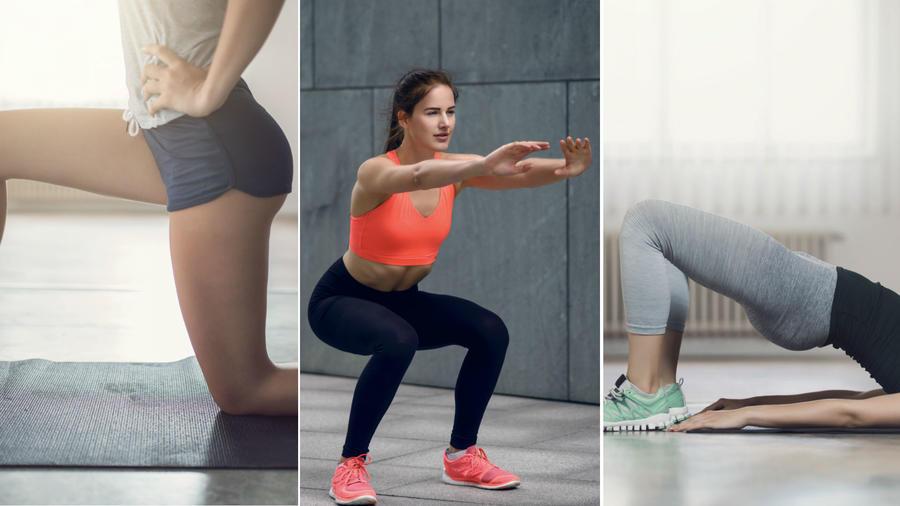 Mujer realizando ejercicio