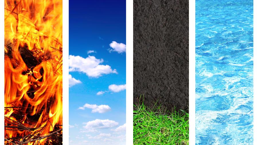 Los 4 elementos de la vida