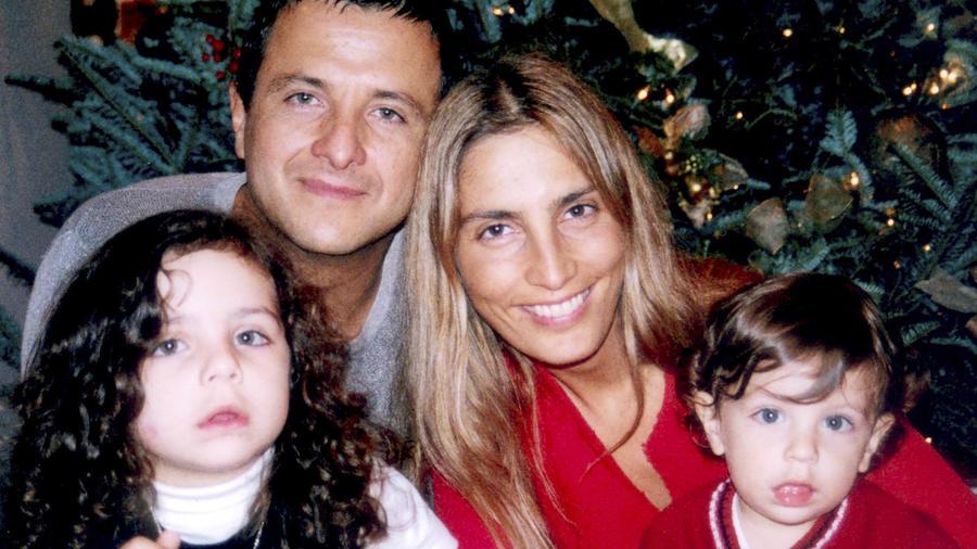 La familia de Eduardo Palomo