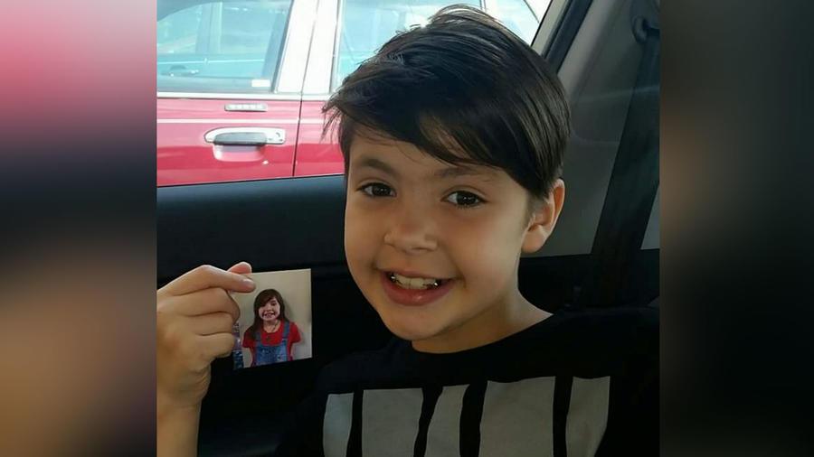 Niño transgénero de 9 años