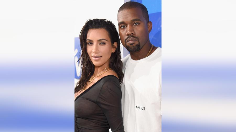 Kim Kardashian y Kanye West en los MTV Video Music Awards 2016